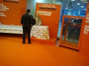 Lince Boreal en el evento L'Oreal en Barcelona